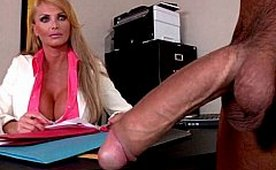 Busty Mature Doctor Was Surprised How Big his Cock