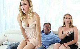 Horny Daughter and Too Naughty Stepdad