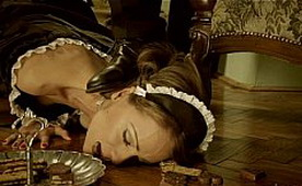 Clumsy Maid Punished Like a Whore