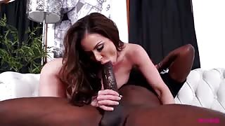 Don't You Dare Put That Monster in My Ass - Interracial Milf Porn