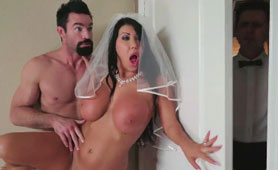 Dirty Whore Cheats Her Husband Before The Wedding
