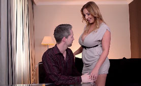 Huge Tits Wife Wants Some Attention From Her Husband